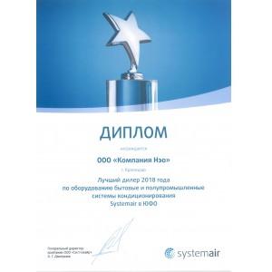 Сертификат systemair